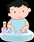Bước 2: Lấy nước