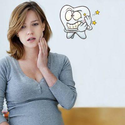 Bà bầu đau răng phải làm sao?