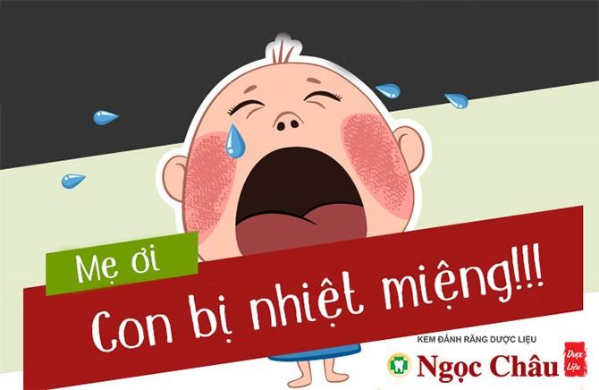 Lở miệng, nhiệt miệng ở trẻ sơ sinh có thể bắt nguồn từ nhiều nguyên do khác nhau