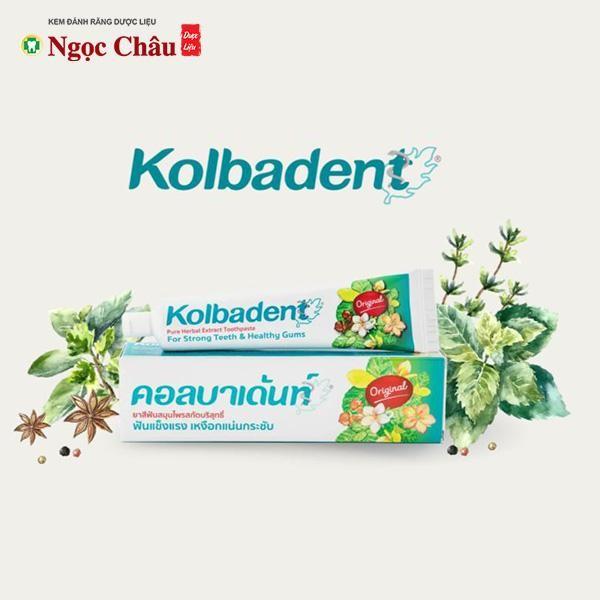 Kem đánh răng thảo dược Kolbadent