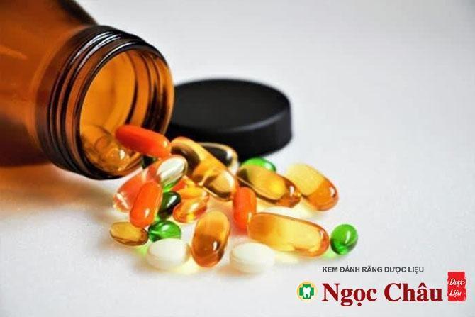 Các loại viên uống bổ sung vitamin và khoáng chất phù hợp