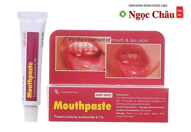 Mouthpaste
