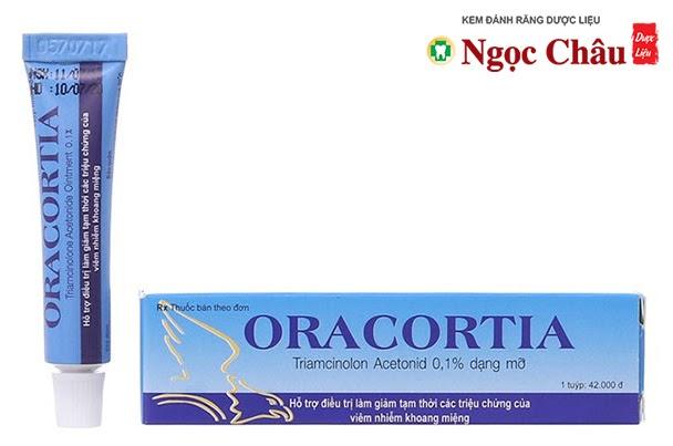 Thuốc bôi nhiệt miệng (lở miệng) Oracortia