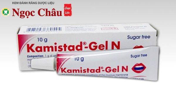 Thuốc bôi nhiệt miệng Kamistad