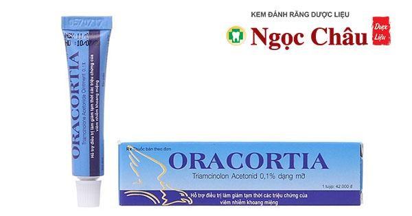 Thuốc bôi trị loét miệng Oracortia 5g