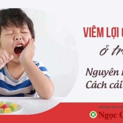 Viêm lợi có mủ ở trẻ