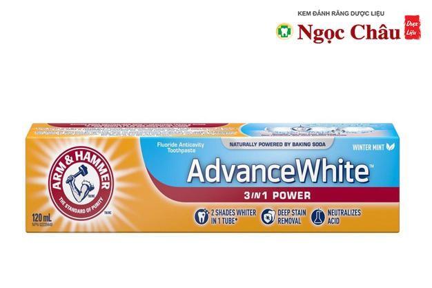 Kem Đánh Răng Arm & Hammer Sensitive Whitening