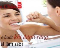 Răng ê buốt khi đánh răng phải làm sao?