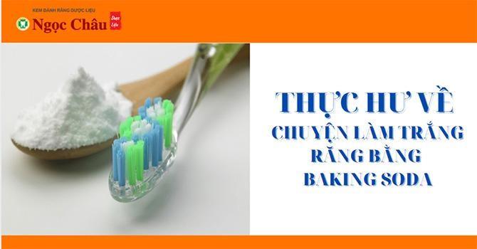 Mách nhỏ cách làm trắng răng tại nhà bằng baking soda 1