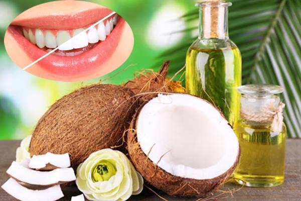 Cách làm trắng răng bằng dầu dừa liệu có hiệu quả?