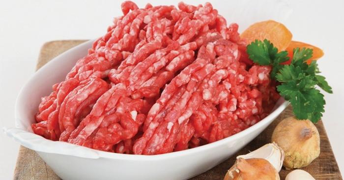 Thịt xay giúp cân bằng dinh dưỡng cho cơ thể, và giảm hoạt động nhai