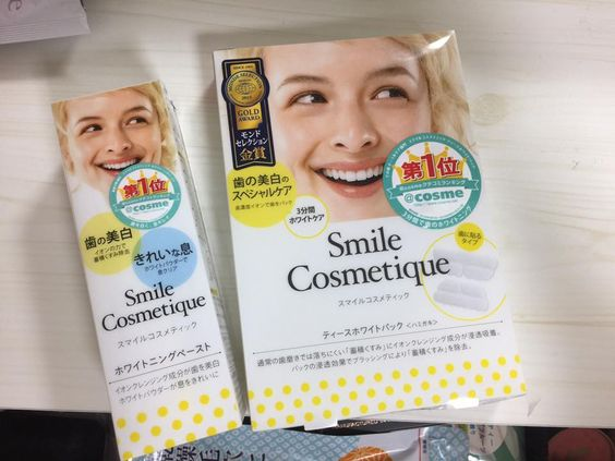 Miếng dán trắng răng Smile Cosmetique