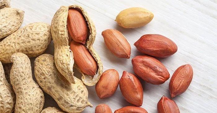 Lạc (đậu phộng) giúp trắng răng tự nhiên
