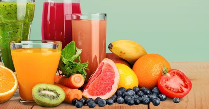 Bổ sung nước ép trái cây hàng ngày
