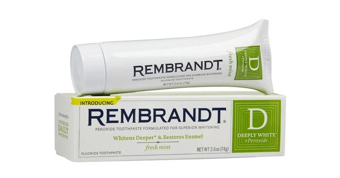 Rembrandt Whitening Toothpaste