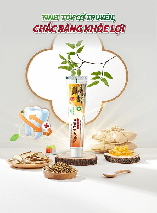 Kem đánh răng dược liệu Ngọc Châu truyền thống được nhiều người dùng Việt tìm mua.
